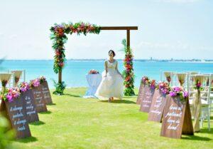バリ島ウェディング ガーデン挙式