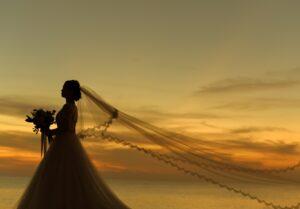バリ島結婚式  サンセット フォトウェディング