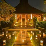バリ島 ウブド マヤ・ウブド ホテルのエントランス