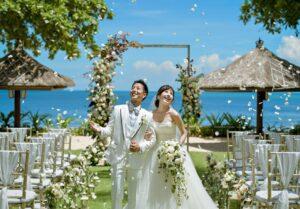 バリ島 インターコンチネンタル・バリ・リゾート ガーデン挙式 ウェディング パーティー